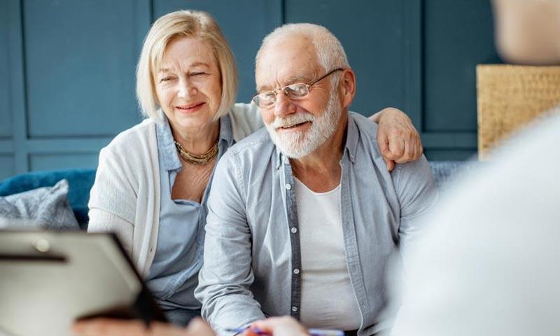 Blurb - Senior Couple